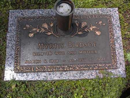 BLEDSOE, MYRTIS - Crittenden County, Arkansas | MYRTIS BLEDSOE - Arkansas Gravestone Photos