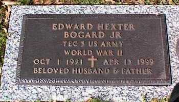 BOGARD, JR (VETERAN WWII), EDWARD HEXTER - Crittenden County, Arkansas | EDWARD HEXTER BOGARD, JR (VETERAN WWII) - Arkansas Gravestone Photos
