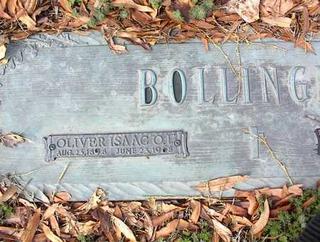 "BOLLINGER, OLIVER ISAAC ""O I"" - Crittenden County, Arkansas 