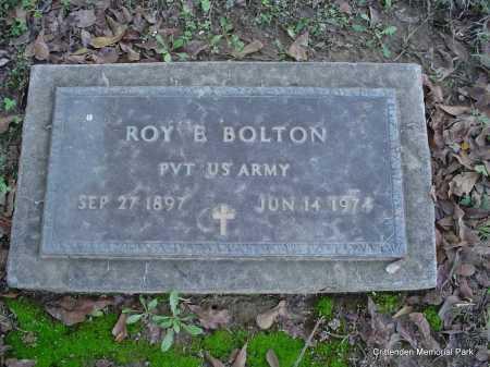 BOLTON (VETERAN), ROY E - Crittenden County, Arkansas | ROY E BOLTON (VETERAN) - Arkansas Gravestone Photos
