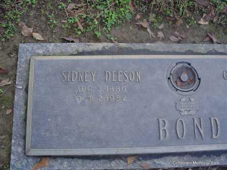 BOND, SIDNEY - Crittenden County, Arkansas | SIDNEY BOND - Arkansas Gravestone Photos
