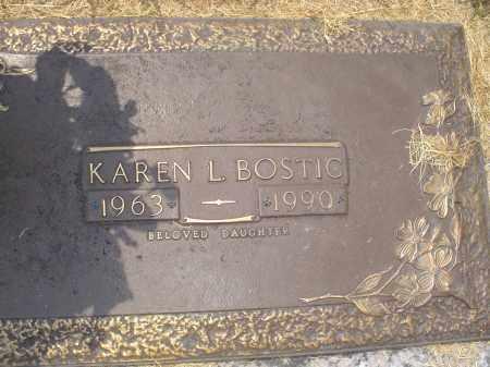 BOSTIC, KAREN L - Crittenden County, Arkansas | KAREN L BOSTIC - Arkansas Gravestone Photos