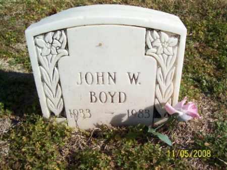 BOYD, JOHN W. - Crittenden County, Arkansas | JOHN W. BOYD - Arkansas Gravestone Photos