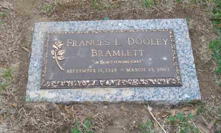 BRAMLETT, FRANCES L - Crittenden County, Arkansas | FRANCES L BRAMLETT - Arkansas Gravestone Photos