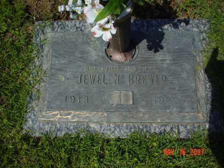 BREWER, JEWEL M. - Crittenden County, Arkansas | JEWEL M. BREWER - Arkansas Gravestone Photos