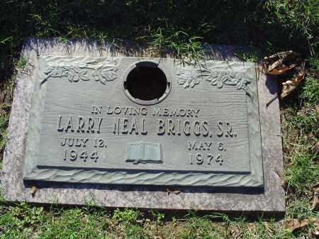 BRIGGS, SR, LARRY NEAL - Crittenden County, Arkansas | LARRY NEAL BRIGGS, SR - Arkansas Gravestone Photos