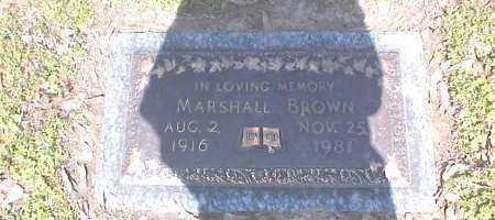 BROWN, MARSHALL - Crittenden County, Arkansas | MARSHALL BROWN - Arkansas Gravestone Photos