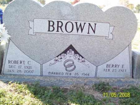 BROWN, ROBERT C. - Crittenden County, Arkansas   ROBERT C. BROWN - Arkansas Gravestone Photos