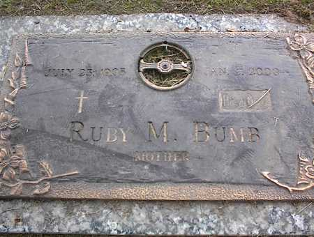 BUMB, RUBY M - Crittenden County, Arkansas | RUBY M BUMB - Arkansas Gravestone Photos