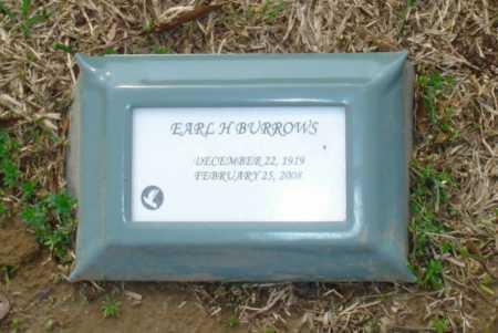 BURROWS, EARL H - Crittenden County, Arkansas | EARL H BURROWS - Arkansas Gravestone Photos