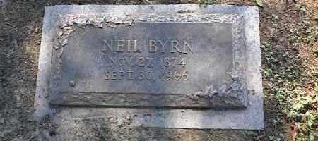 BYRN, NEIL - Crittenden County, Arkansas | NEIL BYRN - Arkansas Gravestone Photos