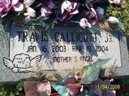 CALLICUTT, TRAVIS, JR. - Crittenden County, Arkansas | TRAVIS, JR. CALLICUTT - Arkansas Gravestone Photos