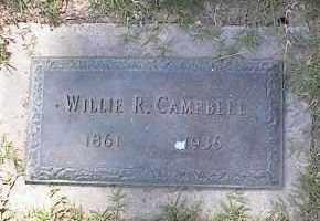 CAMPBELL, WILLIE R - Crittenden County, Arkansas   WILLIE R CAMPBELL - Arkansas Gravestone Photos