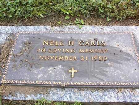 CARLS, NELL H - Crittenden County, Arkansas   NELL H CARLS - Arkansas Gravestone Photos
