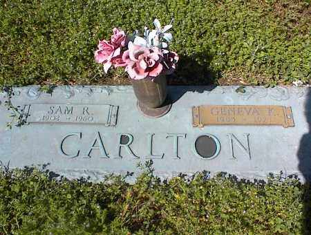 CARLTON, GENEVA K. - Crittenden County, Arkansas | GENEVA K. CARLTON - Arkansas Gravestone Photos