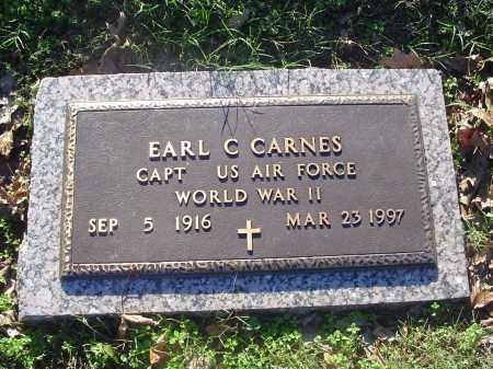 CARNES (VETERAN WWII), EARL C - Crittenden County, Arkansas | EARL C CARNES (VETERAN WWII) - Arkansas Gravestone Photos