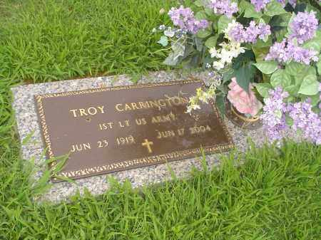 CARRINGTON  (VETERAN), TROY - Crittenden County, Arkansas | TROY CARRINGTON  (VETERAN) - Arkansas Gravestone Photos