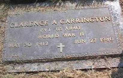 CARRINGTON (VETERAN WWII), CLARENCE A - Crittenden County, Arkansas | CLARENCE A CARRINGTON (VETERAN WWII) - Arkansas Gravestone Photos