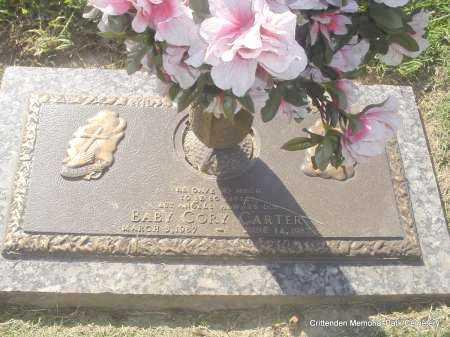 CARTER, BABY CORY - Crittenden County, Arkansas | BABY CORY CARTER - Arkansas Gravestone Photos