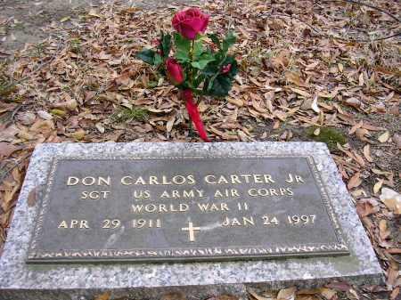 CARTER, DON CARLOS  JR - Crittenden County, Arkansas   DON CARLOS  JR CARTER - Arkansas Gravestone Photos