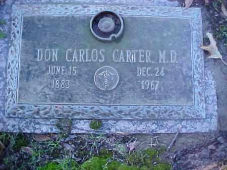 CARTER, DON CARLOS DR - Crittenden County, Arkansas   DON CARLOS DR CARTER - Arkansas Gravestone Photos