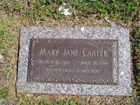 CARTER, MARY JANE - Crittenden County, Arkansas | MARY JANE CARTER - Arkansas Gravestone Photos