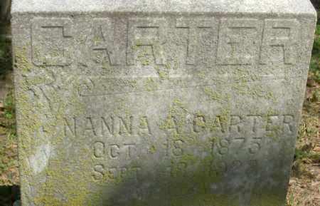 CARTER, NANNA A. - Crittenden County, Arkansas | NANNA A. CARTER - Arkansas Gravestone Photos