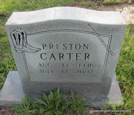 CARTER, PRESTON - Crittenden County, Arkansas   PRESTON CARTER - Arkansas Gravestone Photos