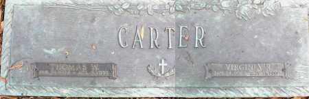CARTER, VIRGINIA R - Crittenden County, Arkansas   VIRGINIA R CARTER - Arkansas Gravestone Photos