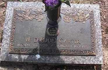 CARTER, W. D. (DUB) - Crittenden County, Arkansas | W. D. (DUB) CARTER - Arkansas Gravestone Photos