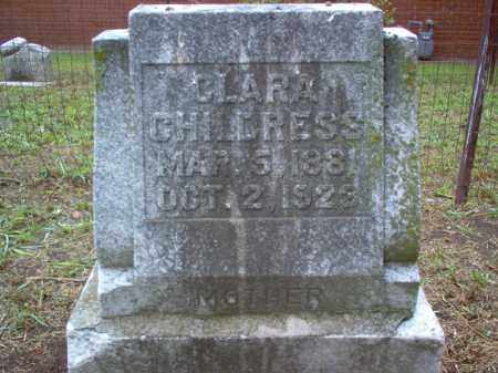 CHILDRESS, CLARA - Crittenden County, Arkansas | CLARA CHILDRESS - Arkansas Gravestone Photos