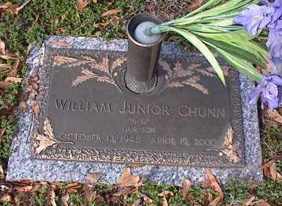 CHUNN, JR., WILLIAM - Crittenden County, Arkansas | WILLIAM CHUNN, JR. - Arkansas Gravestone Photos