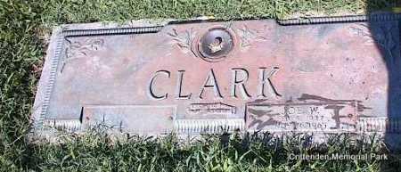 CLARK, JOE W - Crittenden County, Arkansas | JOE W CLARK - Arkansas Gravestone Photos