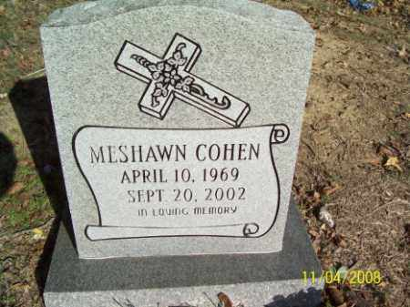 COHEN, MESHAWN - Crittenden County, Arkansas | MESHAWN COHEN - Arkansas Gravestone Photos