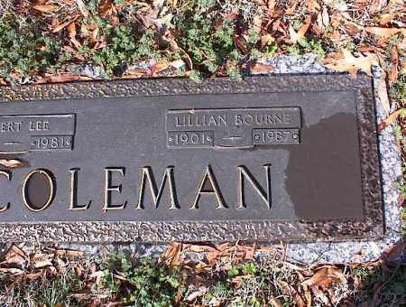 COLEMAN, LILLIAN - Crittenden County, Arkansas | LILLIAN COLEMAN - Arkansas Gravestone Photos