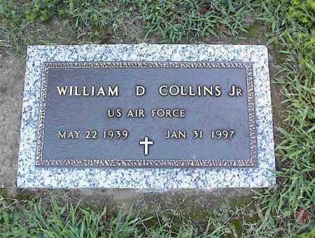 COLLINS, JR (VETERAN), WILLIAM D - Crittenden County, Arkansas   WILLIAM D COLLINS, JR (VETERAN) - Arkansas Gravestone Photos