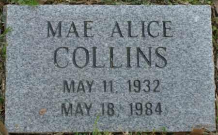 COLLINS, MAE ALICE - Crittenden County, Arkansas | MAE ALICE COLLINS - Arkansas Gravestone Photos