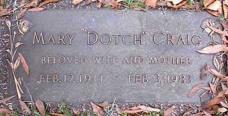 CRAIG, MARY - Crittenden County, Arkansas | MARY CRAIG - Arkansas Gravestone Photos