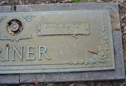 BLACK CRINER, MAE - Crittenden County, Arkansas | MAE BLACK CRINER - Arkansas Gravestone Photos
