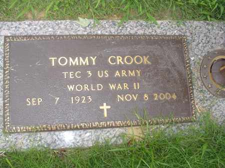 CROOK  (VETERAN WWII), TOMMY - Crittenden County, Arkansas | TOMMY CROOK  (VETERAN WWII) - Arkansas Gravestone Photos