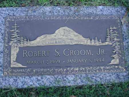 CROOM, JR, ROBERT S - Crittenden County, Arkansas | ROBERT S CROOM, JR - Arkansas Gravestone Photos