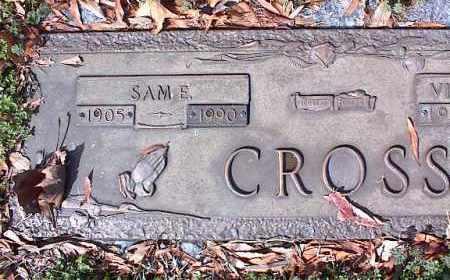 CROSS, SAM E - Crittenden County, Arkansas | SAM E CROSS - Arkansas Gravestone Photos