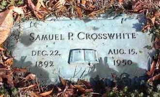 CROSSWHITE, SAMUEL P. - Crittenden County, Arkansas | SAMUEL P. CROSSWHITE - Arkansas Gravestone Photos