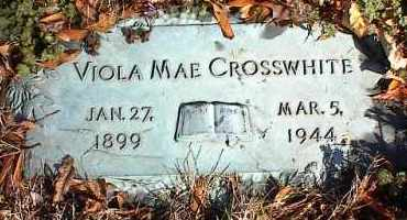 CROSSWHITE, VIOLA MAE - Crittenden County, Arkansas | VIOLA MAE CROSSWHITE - Arkansas Gravestone Photos
