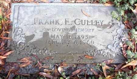 CULLEY, FRANK F - Crittenden County, Arkansas   FRANK F CULLEY - Arkansas Gravestone Photos