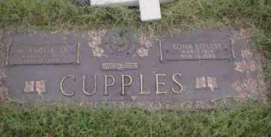 CUPPLES, EDNA LOUISE - Crittenden County, Arkansas | EDNA LOUISE CUPPLES - Arkansas Gravestone Photos