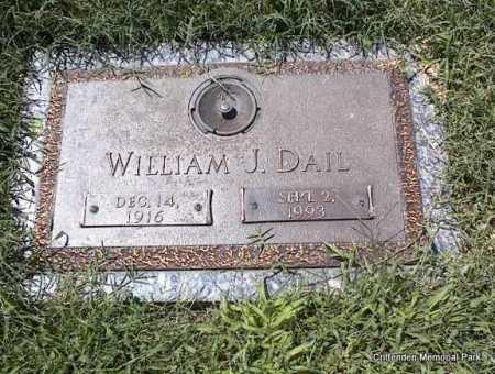 DAIL, WILLIAM J - Crittenden County, Arkansas | WILLIAM J DAIL - Arkansas Gravestone Photos
