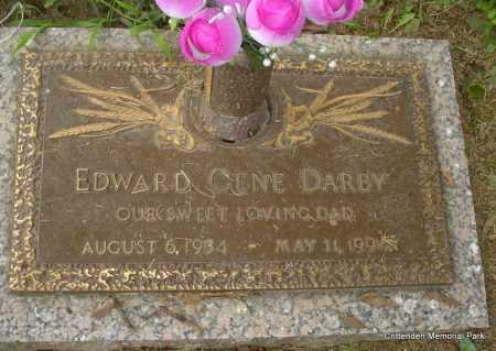 DARBY, EDWARD GENE - Crittenden County, Arkansas   EDWARD GENE DARBY - Arkansas Gravestone Photos