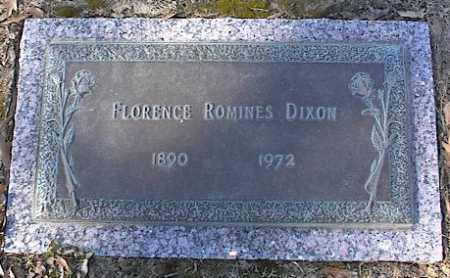 DIXON, FLORENCE ROMINES - Crittenden County, Arkansas | FLORENCE ROMINES DIXON - Arkansas Gravestone Photos