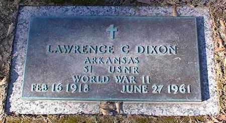 DIXON (VETERAN WWII), LAWRENCE - Crittenden County, Arkansas | LAWRENCE DIXON (VETERAN WWII) - Arkansas Gravestone Photos